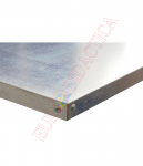 Blat OSB 25mm+acoperire din metal zincat (1200x620mm)