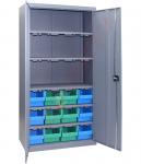 Dulap feronerie cu 12 cutii 700(900x 390x 1800mm)