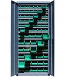 Dulap feronerie cu 30 cutii 701 si 48 cutii 702(800x300x1800mm)